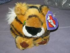 TIPPER THE TIGER PLUSH BEANIE PUFFKINS NWT Dark Purple Tag - first issue