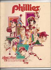 1973 Philadelphia Phillies Yearbook near mint (see scan) Mike Schmidt 1st Year