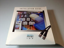 Media100 Installation Guide [128 pages softcover] (Mac)(1996)