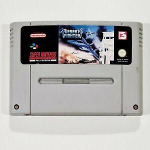 Super Nintendo Modul DESERT FIGHTER dt. PAL Isometric Shooter/Strike/Kampfjet