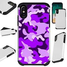 Fusion Guard For iPhone 6/7/8 PLUS/X/XR/XS Max Phone Case PURPLE CAMO