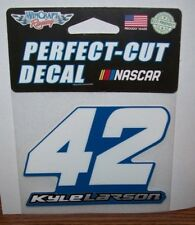 KYLE LARSON #42 PERFECT CUT DECAL WINCRAFT 4X4 DECAL STICKER