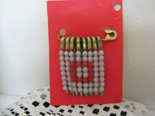 "Safety Pin ~ **Gift Idea ~ Buckeyes (Block ""O"")"