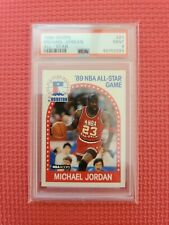 1989 Hoops Michael Jordan ALL-STAR #21 PSA 9 MINT Chicago Bulls