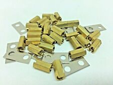 NEW Terminal Block 28 BRASS NUTS & 14 STRIPS HARDWARE RC