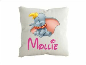 Dumbo Personalised  cushion pillow with any name Cover only