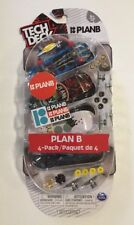 TECH DECK 96mm Fingerboard 4 Pack PLAN B Funtastic Spin Master Build Your Own