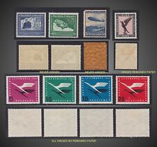 1926-1955 GERMANY FLUGPOST AIR POST H NEVER HINGED ZEPPELIN SC. 32,37,59 60,61
