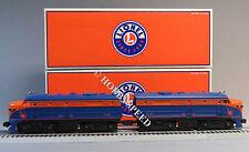 LIONEL JERSEY CENTRAL ALCO FA DIESEL AA PWR 65 & DMY 64 train o gauge 6-38221