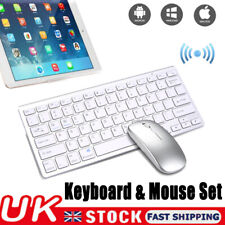 Wireless Bluetooth Keyboard & Mute Mouse Set For Laptop/PC/iMac/Mobile Phone HOT