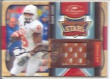 quan cosby rc rookie auto autograph jersey patch texas longhorns college 1/10