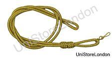 Lanyard Whistle lanyard Gold Mylar, Lanyard double Cord R192