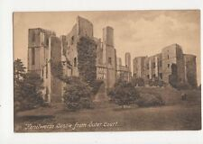 Kenilworth Castle From Outer Court Vintage Postcard  162a