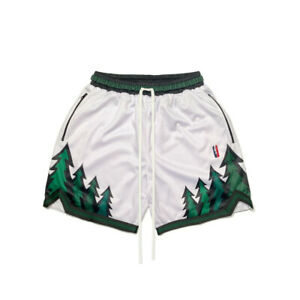 COLLECT & SELECT (TRILLEST) WHITE TIMBERWOLVES SWINGMAN SHORTS SIZE SMALL