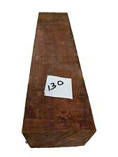 "Bloodwood Turning Blank/Pepper Mill Blanks/ Lathe 2-3/4"" x 3"" x 12"", #130"