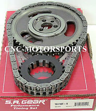 BBC BB Chevy 396 427 454 SA Gear Double Roller Timing Chain THRUST BEARING 9 key