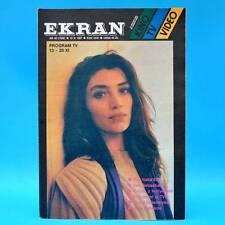 EKRAN 1536 | 13.-19.11.1987 | VR Polen FF Dabei | James Stewart Carole Bouquet