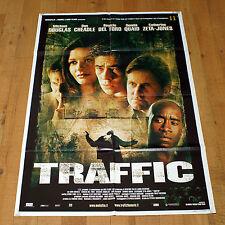 TRAFFIC manifesto poster Michael Douglas Benicio del Toro Catherine Zeta-Jones