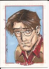 PETER PARKER sketch card by JIM KYLE Spider-Man Archives Rittenhouse 2009
