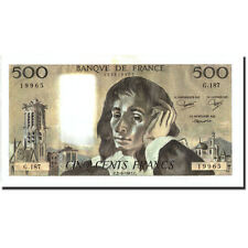 Billets, France, 500 Francs, 500 F 1968-1993 ''Pascal'', 1983 #211045