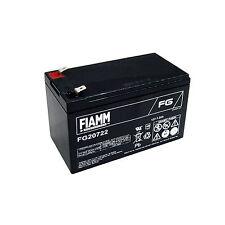 FIAMM FG20722 BATTERIA AL PIOMBO RICARICABILE 12V 7,2Ah  FASTON 6,3 MM