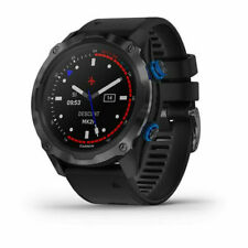 Garmin Descent Mk2i GPS Watch - Titanium Carbon Gray DLC with Black Band