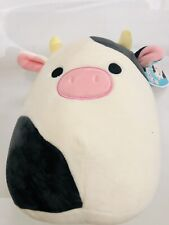 Nwt Squishmallow Connor the Cow 8 Inches