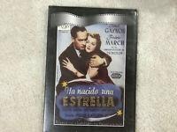 HA NACIDO UNA ESTRELLA DVD JANET GAYNOR FEDRIC MARCH WILLIAM WELLMAN