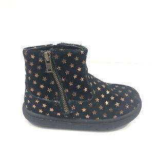 Stride Rite Zaria Star Boots Girls Child Size 7 Toddler Zip Ankle Bootie