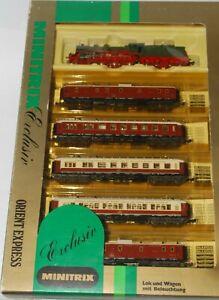Minitrix N Orient Express Set #1077