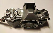 Olympus OM-D  E-M5 II Silver   solo corpo