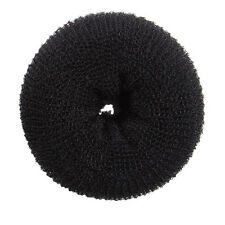Super Large Hair Donut Bun Ring French Rolls Black Brown Beige
