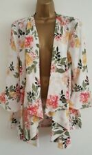 Viscose Summer Coats & Jackets Classic Neckline for Women
