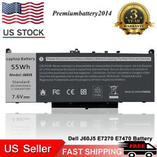 Battery For Dell Latitude E7270 E7470 Series Laptop J60J5 R1V85 451-Bbsx 451 Us