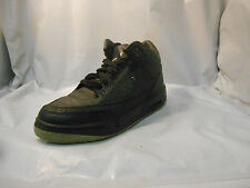 Air Jordan III 3 Retro Black Flip Basketball Shoes Youth Size 6.5 Y 315768-001