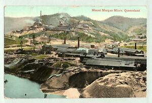 VINTAGE POSTCARD MOUNT MORGAN MINES QLD