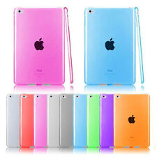 Ultra Thin Soft Transparent TPU Case Cover For iPad 1/2/3/4 Air Mini Pro 9.7''