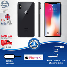 Apple iPhone X | 64GB | Space Grey | UNLOCKED | PREMIUM Grade A+ Condition