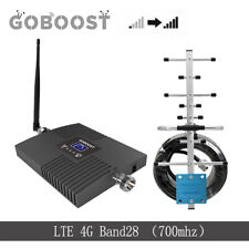 Signal Booster 4G LTE Band28 700MHz 65db phone Amplifier repeater +Yagi Antenna