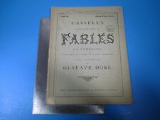 Vintage Cassell's Illustrated Book of Fables La Fontaine #21 - Gustave Dore L996