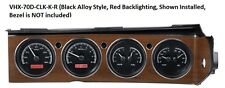 Dakota Digital 70-74 Challenger Cuda with Rallye Dash Gauges Kit VHX-70D-CLG-K-R