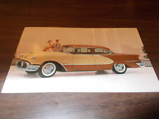 1956 Oldsmobile 98 4-Door Sedan Advertising Postcard