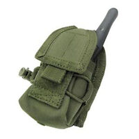Condor Tactical HHR Hand Held Radio Pouch Olive Drab MA56-001 MOLLE PALS