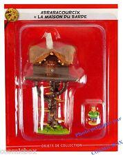 Le VILLAGE d'ASTERIX n° 3 la maison du barde figurine le chef ABRARACOURCIX neuf
