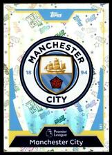 Match Attax 2017-2018 Club Badge Manchester City No. 181