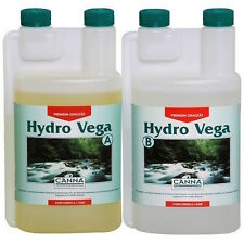 Canna Hydro Vega A+B 2x1 Lt Fertilizzanti Crescita per Coltivazione Idroponica