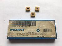 Valenite Carbide Inserts SNEA322 V1N Quantity 3