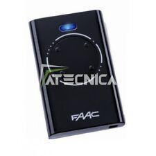Télécommande 4 canaux FAAC XT4 868 Mhz SLH LR Noire 7870101 pour por portails