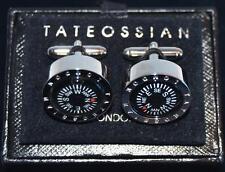 Pair of Vintage Taieossian London Compass Mens Cufflinks