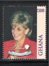 Ghana 1998 SC#2074 Single Issue of Diana, Princess of Wales Mint NH Free Ship